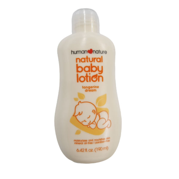 Natural Baby Lotion by Human Nature (190ml) Homegrown: Fresh Food, Groceries, Plants and More!