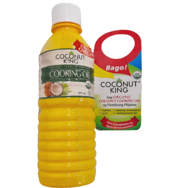 Premium Cooking Oil, Coconut King, Certified USDA Organic (30ml) Homegrown: Fresh Food, Groceries, Plants and More!