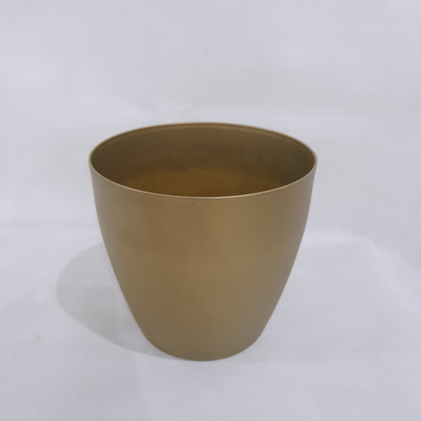 Minimalist Pot/Vase,Gold,8.5x8 inches (per piece) Homegrown: Fresh Food, Groceries, Plants and More!