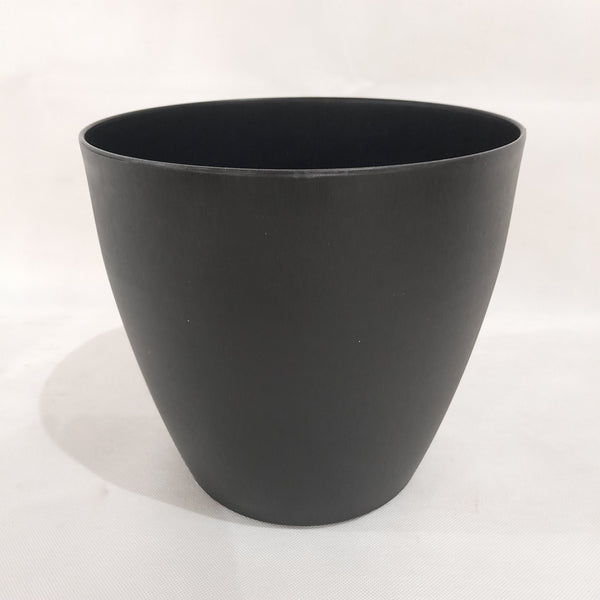 Minimalist Pot/Vase,Black,8.5x8 inches (per piece) Homegrown: Fresh Food, Groceries, Plants and More!