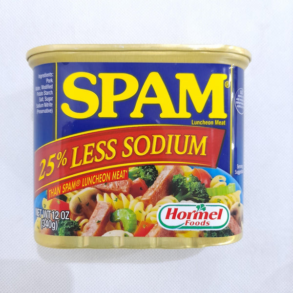 SPAM Less Sodium,340g (per piece) Homegrown: Fresh Food, Groceries, Plants and More!
