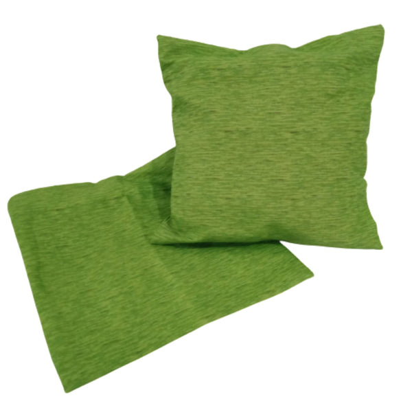 Throw Pillow Case,Green, 18x18inches (per piece) Homegrown: Fresh Food, Groceries, Plants and More!