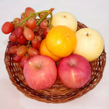 Fruit Tray Set D:Included Grapes 250g and 2pcs each of Apple,Ponkan,Pear,Tray (per set) Homegrown: Fresh Food, Groceries, Plants and More!