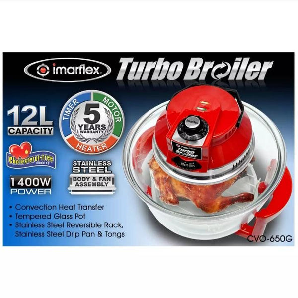 Imarflex Turbo Broiler, Model CVO-650G (per piece) Homegrown: Fresh Food, Groceries, Plants and More!