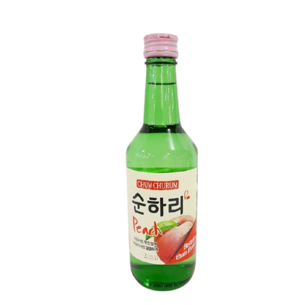 Soju in Peach Flavor,Chumchurum,360ml (per bottle) Homegrown: Fresh Food, Groceries, Plants and More!