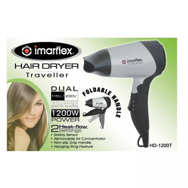 Imarflex Hair Dryer, HD 1200T (per piece) Homegrown: Fresh Food, Groceries, Plants and More!