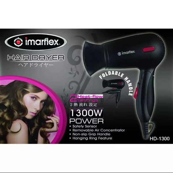 Imarflex Hair Dryer, HD 1300 (per piece) Homegrown: Fresh Food, Groceries, Plants and More!