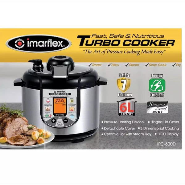 Imarflex Turbo Cooker,IPC 600D (per piece) Homegrown: Fresh Food, Groceries, Plants and More!