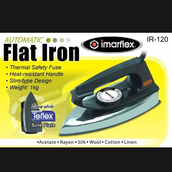 Imarflex Flat Iron,Black,IR 120 (per piece) Homegrown: Fresh Food, Groceries, Plants and More!