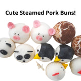 Cute Steamed Pork Buns Party Set (12pcs) Homegrown: Fresh Food, Groceries, Plants and More!