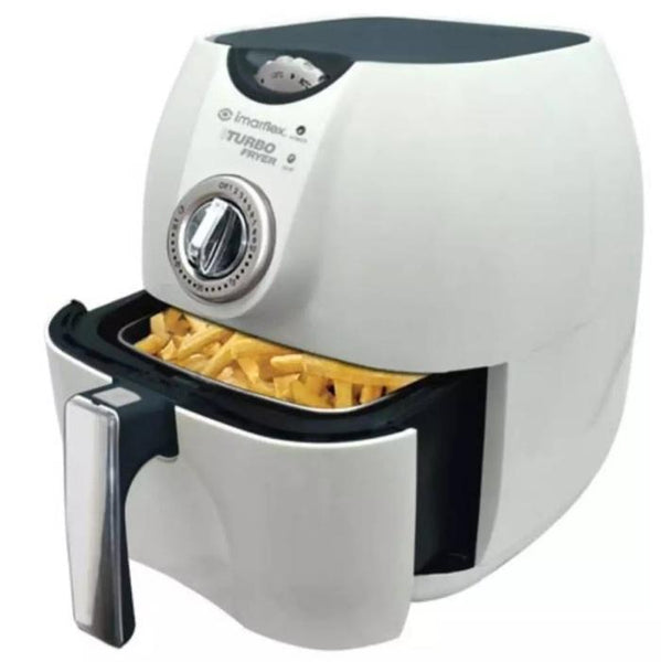 Air Fryer Turbo, 3Liters, Imarflex,White, Model CVO-300SW (per piece) Homegrown: Fresh Food, Groceries, Plants and More!