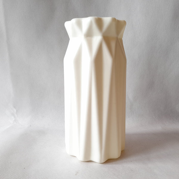 Flower Vase,White, Plastic, 5 Inches up (per piece) Homegrown: Fresh Food, Groceries, Plants and More!