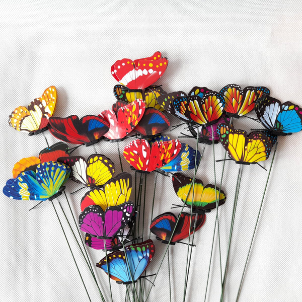 Butterfly Decor for Plants,5pcs (per pack) Homegrown: Fresh Food, Groceries, Plants and More!