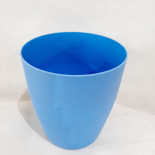 Nordic Pot or Vase, Blue,Plastic, 6.5x7inches (per piece) Homegrown: Fresh Food, Groceries, Plants and More!