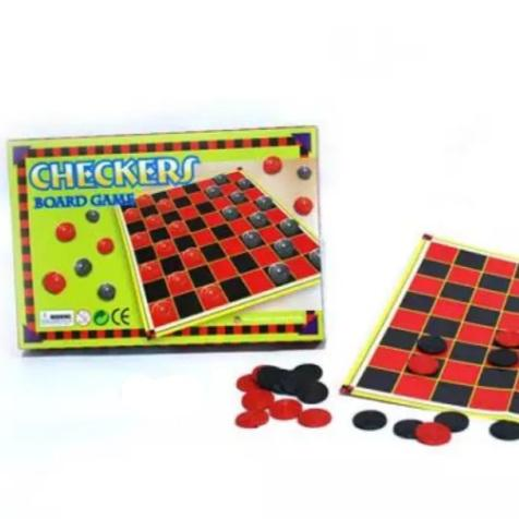 Checkers Board Game (per set) Homegrown: Fresh Food, Groceries, Plants and More!