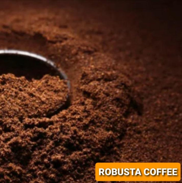 Robusta Ground Coffee,Ready for Coffee Brewer & French Press (200g) Homegrown: Fresh Food, Groceries, Plants and More!