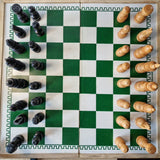 Large Chess Game Set,Wooden,Tournament size 20 inches x 20 inches, 2.25 inch squares (per set) Homegrown: Fresh Food, Groceries, Plants and More!