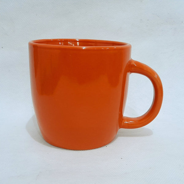 Orange Coffee Mug, Ceramic (per piece) Homegrown: Fresh Food, Groceries, Plants and More!