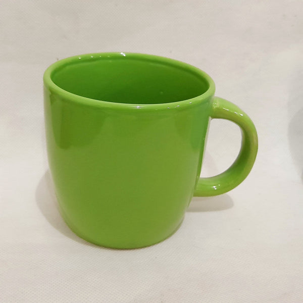 Green Coffee Mug, Ceramic (per piece) Homegrown: Fresh Food, Groceries, Plants and More!