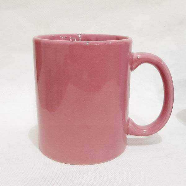 Blush Pink Coffee Mug, Ceramic (per piece) Homegrown: Fresh Food, Groceries, Plants and More!