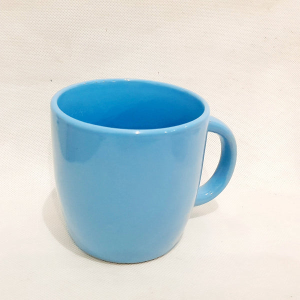 Blue Coffee Mug, Ceramic (per piece) Homegrown: Fresh Food, Groceries, Plants and More!