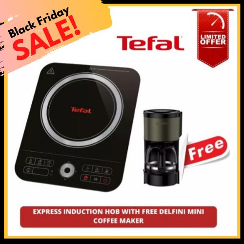 Black Friday Sale, Buy 1 Take 1, Tefal Express Induction Hob Take a FREE Delfini Mini Coffee Maker (Total 2 Items) Homegrown: Fresh Food, Groceries, Plants and More!