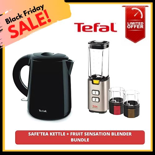 Black Friday Sale, Buy 1 Take 1, Tefal Safe' Tea Kettle Take a FREE Fruit Sensation Blender (Total 2 Items) Homegrown: Fresh Food, Groceries, Plants and More!