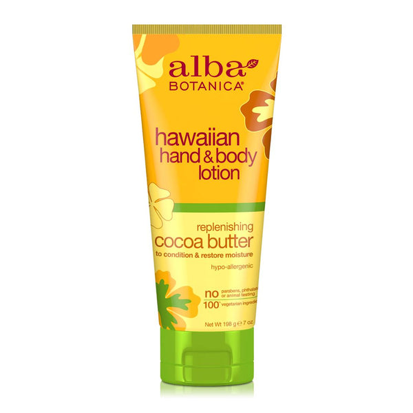 Alba Botanica Cocoa Butter Hawaiian Hand & Body Lotion (196g) Homegrown: Fresh Food, Groceries, Plants and More!
