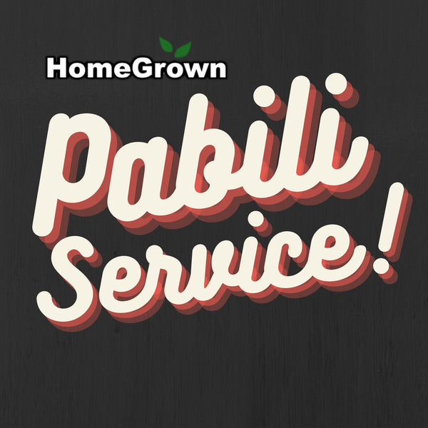 Homegrown Pabili Service in SM Aura,Market Market Mall (and all stores in BGC) Homegrown: Fresh Food, Groceries, Plants and More!
