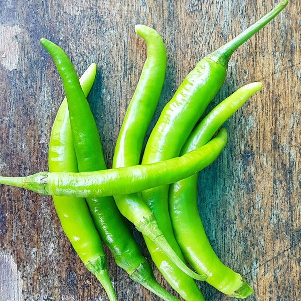 Green Chili 'Panigang' (Per 250g) Homegrown Organics (The Home of Purple Corn) : No Minimum Order