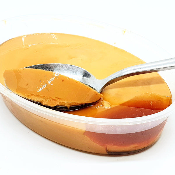 Creamy Leche Flan (Per container) Homegrown Door-to-Door Fresh from the Farm Delivery