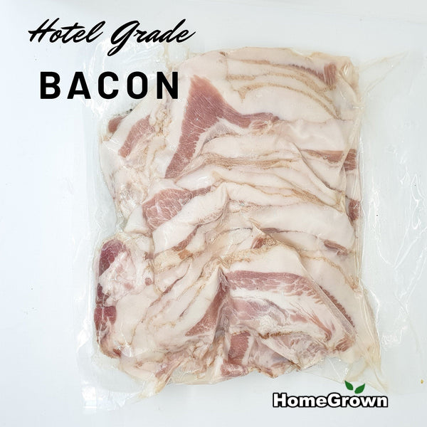 Premium Hotel-Grade Bacon (per 250g) Homegrown Door-to-Door Fresh from the Farm Delivery