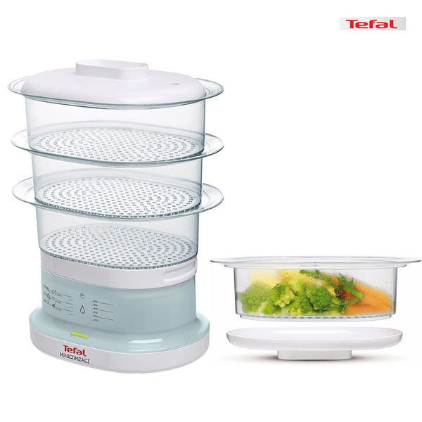 Tefal Mini Compact Steamer (3 layers) Homegrown: Fresh Food, Groceries, Plants and More!
