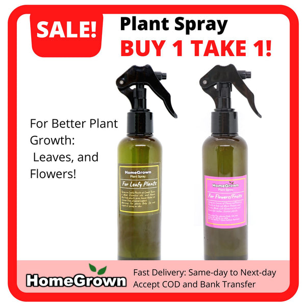 Buy 1 Take 1 Plant Spray, Flower and Leaf (2 Bottles) Homegrown: Fresh Food, Groceries, Plants and More!