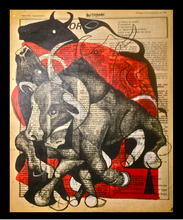 Bull and Cape No. 6 Spain Fantasies Collection, Ricardo Pollman - A Life With Art