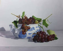 Grapes and Tureen, Miguel Angel Nuñez - A Life With Art