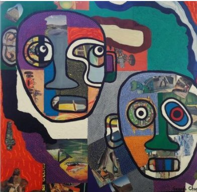 A Couple Of Heads, Gerardo Chapital - A Life With Art
