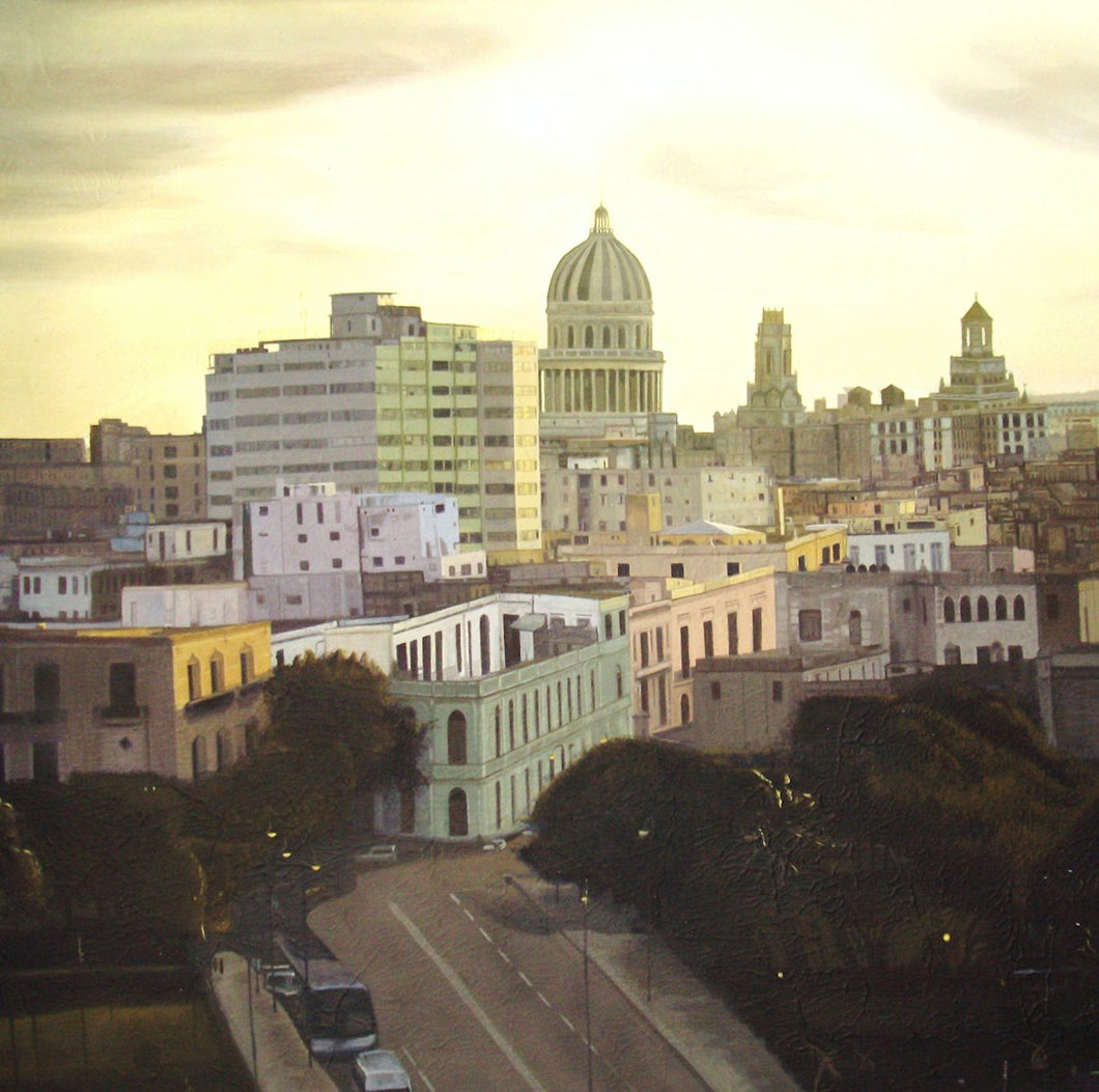 Aerial View From The Hill, Allende Hernandez Martinez - A Life With Art