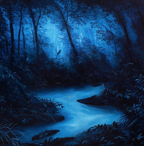 Blue River, Marco Valencia - A Life With Art