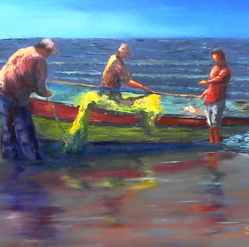 Craft Fishermen, Sergio Dugan - A Life With Art
