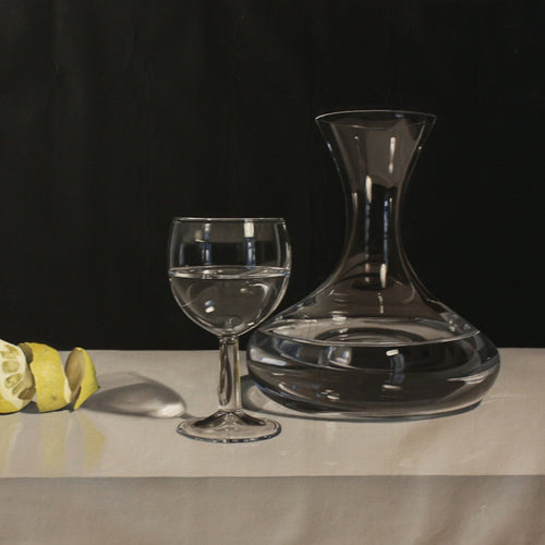 Lime with Decanter and Glass, Miguel Angel Nuñez - A Life With Art