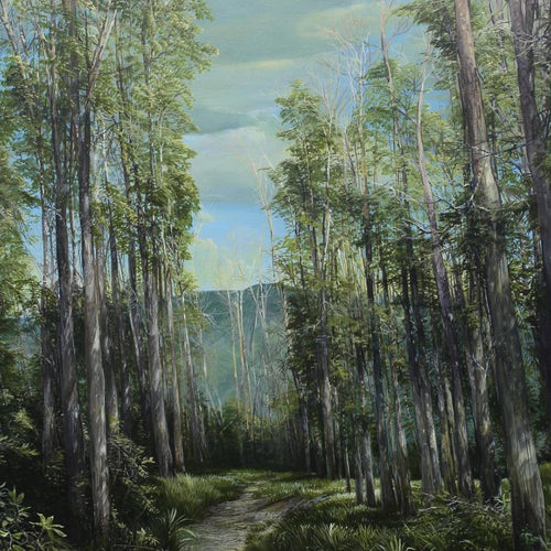 Path Through The Forest, Marco Valencia - A Life With Art