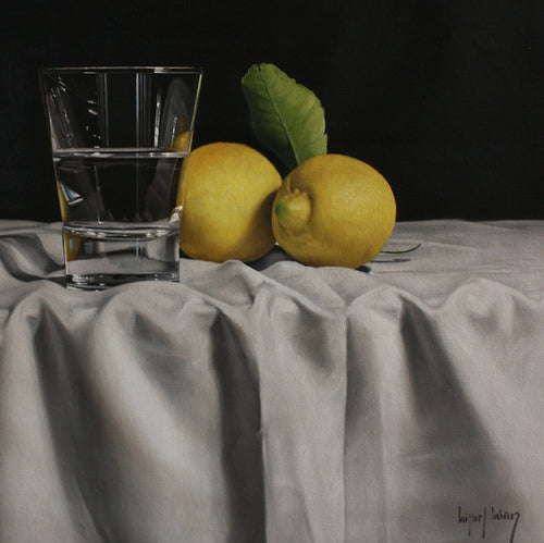 TRANSPARENCIES AND TWO LEMONS, Miguel Angel Nuñez - A Life With Art