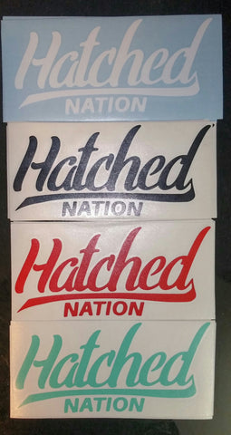 HatchedNation Decals