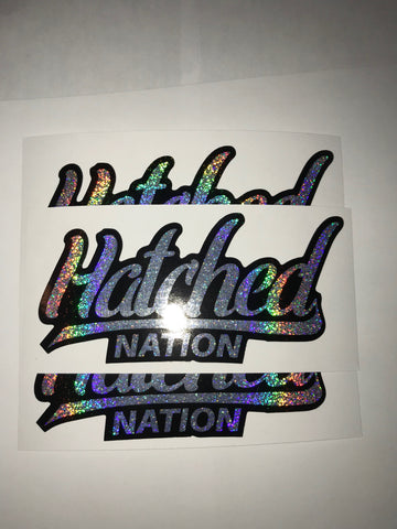 HN Sparkle Slap Sticker