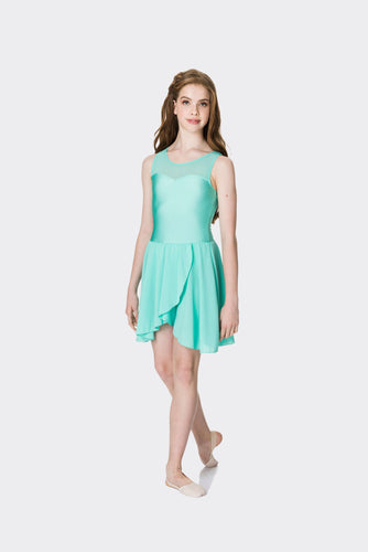 Studio 7 Mesh Lyrical Dress Child - Mint