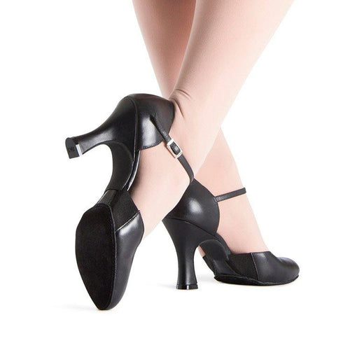 Bloch Splitpro 3' Heel Adult - Black