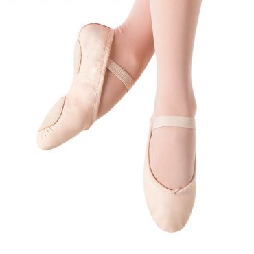 Bloch Prolite 11 Leather Split Sole Ballet Shoe Child - Pink