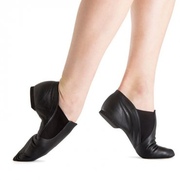 Bloch Elastaboot Jazz Shoes Adult - Black