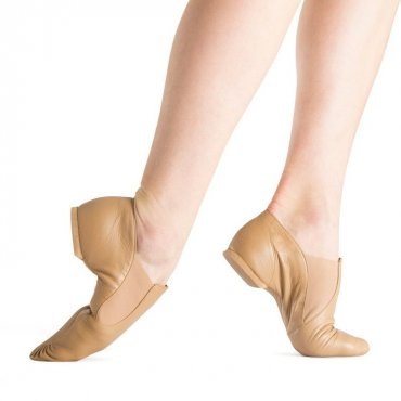 Bloch Elastaboot Jazz Shoes Adult - Tan